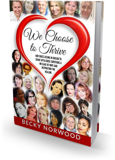 We Choose to Thrive Book Cover Nikki DuBose