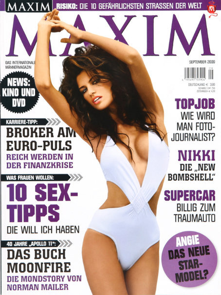 Nikki DuBose Maxim Cover September 2009